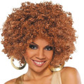 Runway Fro Wig Adult Costume Accessory