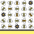 Buzz Bumble Bee Picnic Party Beverage Napkins