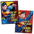 Superman Birthday Party Invitations & Thank You Notes