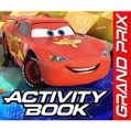 Cars Dream Party Birthday Party Favor Activity Books