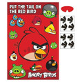 Angry Birds Birthday Party Pin the Tail Party Game