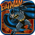 "Batman Heroes & Villains Birthday Party 9"" Square Dinner Plates"