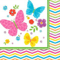 Celebrate Spring Garden Party Bulk Beverage Napkins