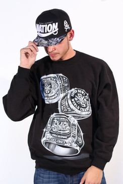 Three Rings Mens Crewneck Fleece