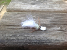 White Tiger Shrimp Bugz - Shrimp Sculpin jig