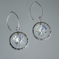 Swarovski Clover Sterling Silver Earrings