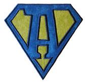 Diamond Alphabet 4x4 Applique Design For Embroidery Machine
