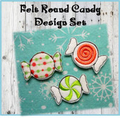 In The Hoop Felt Candy Set 2 Embroidery Machine Designs