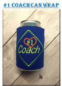 In the Hoop #1 Coach Can Wrap Embroidery Machine Design