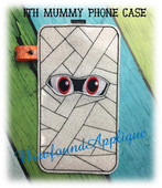 In The Hoop Mummy Phone Ipod Embroidery Machine Design
