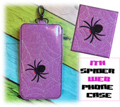 In The Hoop Spider Phone/Ipod Case Embroidery Machine Design