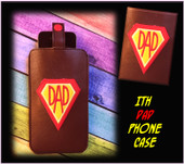 In The Hoop Dad Cell Phone/Ipod Case Embroidery Machine Design