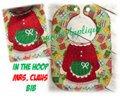 In The Hoop Mrs. Claus Body Bid Embroidery Machine design