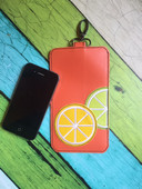 In The Hoop Citrus Cell Phone/Ipod Embroidery Machine Design Case