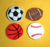 Sportballs Felt  Bits and Pieces