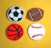 Sportballs Felt  Bits and Pieces