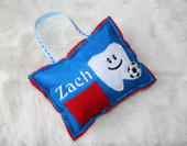 Tooth Pillow  Sports Set for a Boy