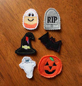 Halloween Felt Bits and Pieces Set