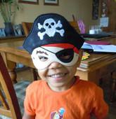 Pirate Mask Set
