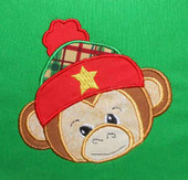 Christmas Monkey Face 1