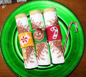Christmas Napkin Wrap Set