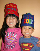 New Years Eve Party Hat Set