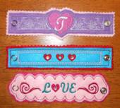 Valentine Wrist Bands