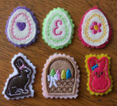 Easter Felt bits and Pieces