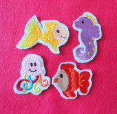 Felt Fish Bits and Pieces
