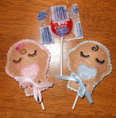 Baby Lollipop  Holder ITH Set