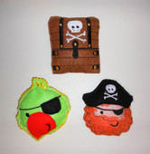Pirate Bean Bag ITH SET