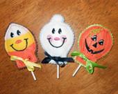 Halloween Lollipop Cover ITH Set 1
