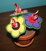 Lollipop Flower in the Hoop Design Set