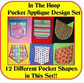 In the Hoop Pocket Design Set