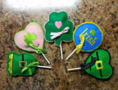 St. Patricks Day Lollipop Cover Set