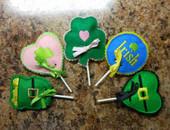 St. Patricks Day Lollipop Cover Set