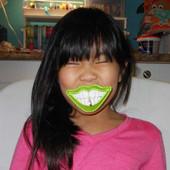 Leprechaun Grin Lollipop Holder Design