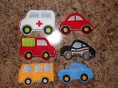 Felt Board Car Applique Design Set