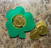 Clover Candy Pocket In the Hoop Design