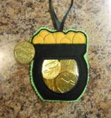 Pot of Gold Pocket In the Hoop Design