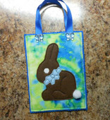 Bunny Treat Bag In the Hoop Design