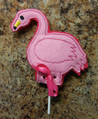Flamingo Lollipop Holder Design