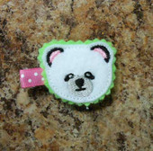 Panda Party  Fun Felt Piece  Design
