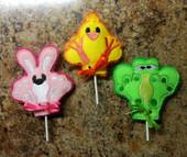 Spring Critter Lollipop Holder Set