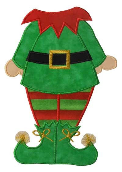 Elf Body Applique Design - Newfound Applique