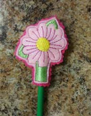 Daisy Pencil Topper Design