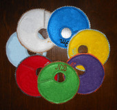 In The Hoop Blank Closet Organizer Tab Embroidery Machine Design Set