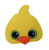 Adorable Chickie Applique Embroidery Machine Design