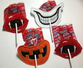 In The Hoop Halloween Lollipop Mouth Embroidery Machine Design Set