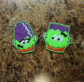 In The Hoop Halloween Feltie Set 1 Embroidery Machine Design Set